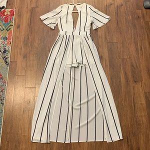 Black and white Gianni Bini Dress/Romper